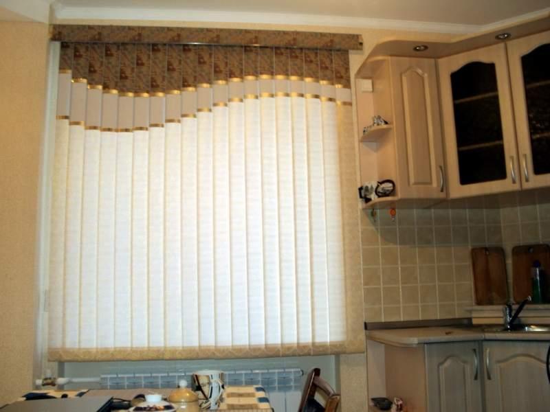 Жалюзи фото в интерьере кухни
